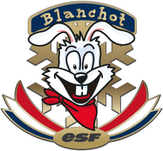 Blanchot le lapin blanc du jardin des enfants de l'esf
