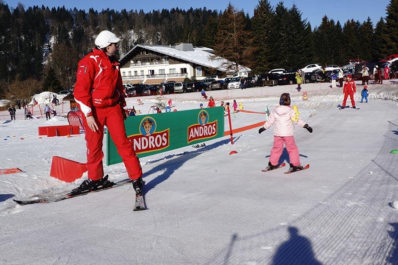 baby skieur leçon particulière
