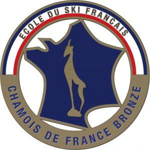 Médaille chamois de bronze esf de Ventron