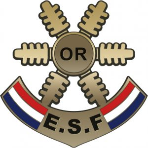 Médaille étoile d'Or des esf