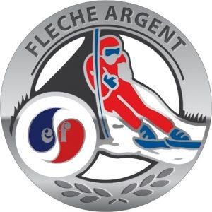 Médaille flèche d'argent esf de Ventron