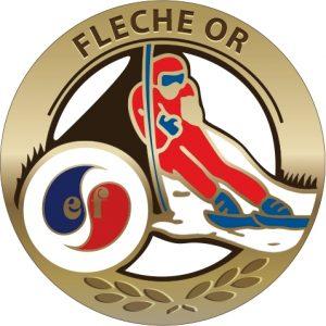 Médaille Flèche d'OR esf de Ventron