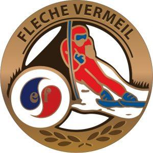 Médaille flèche de vermeil esf de Ventron