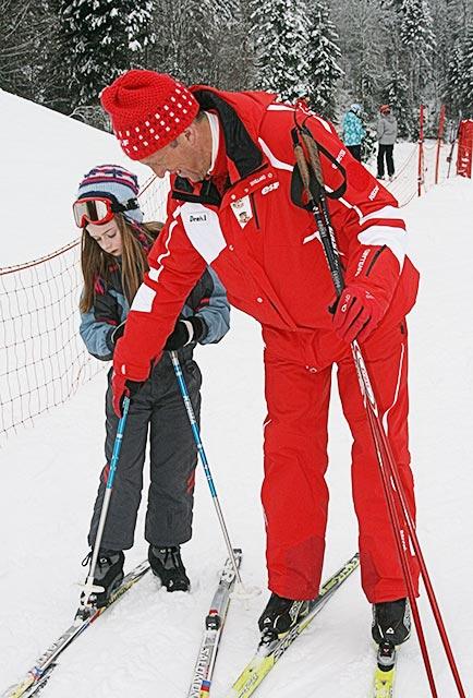 ski de fond traditionnel esf ventron