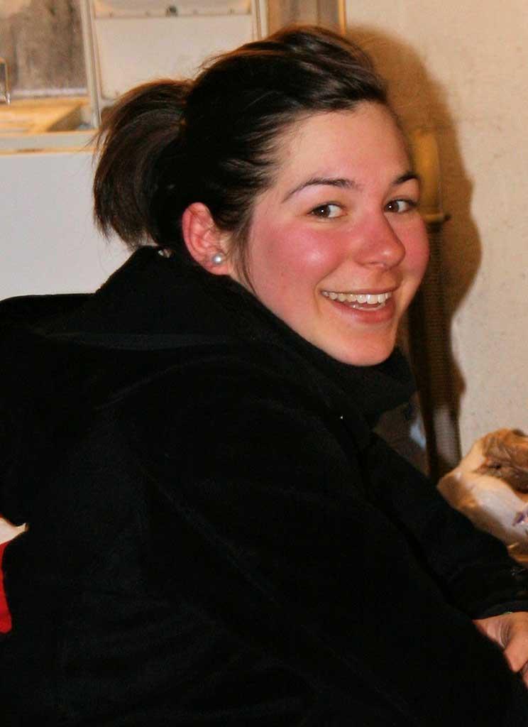 Marina monitrice à l'école de ski de Ventron
