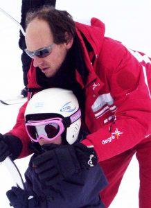 Philippe G. moniteur de ski alpin
