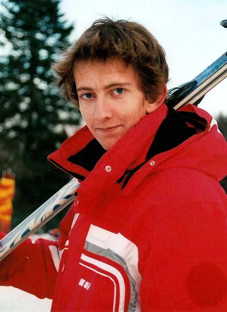 Pierre moniteur à lécole de ski de Ventron