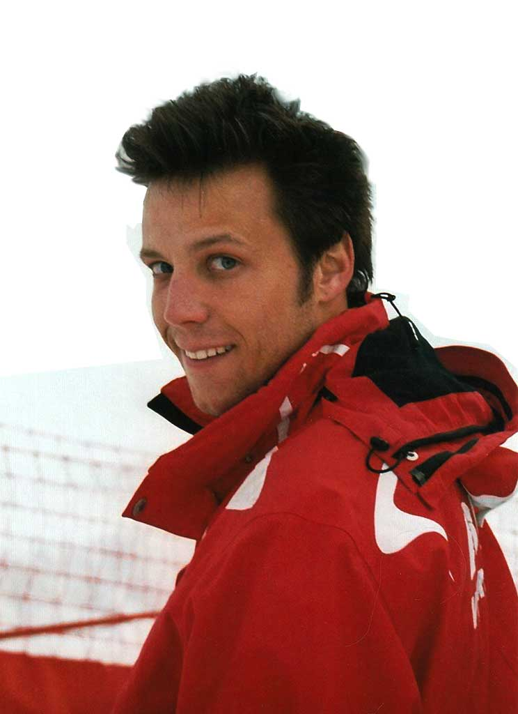 Romain moniteur à l'école du ski français de Ventron