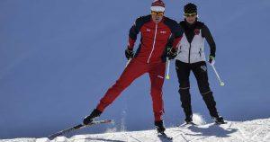 ski de fond à l'esf de Ventron