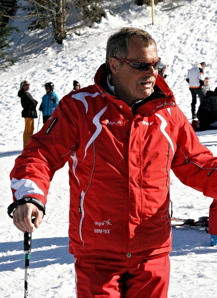 Didier moniteur à l'école du ski français de Ventron