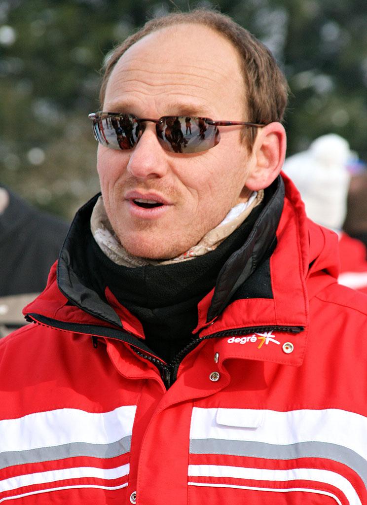 Philippe G. moniteur à l'école du ski français de Ventron