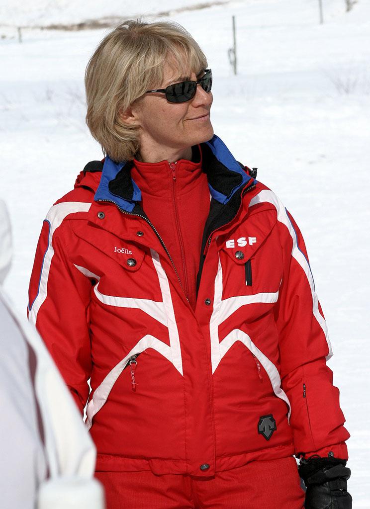 Joëlle monitrice à l'école du ski français de Ventron