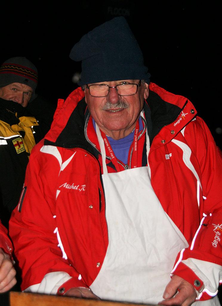 Michel moniteur à l'école du ski français de Ventron