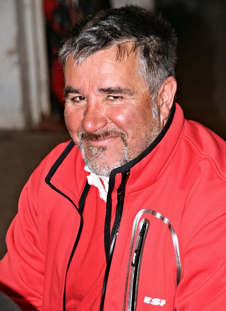 Patrick moniteur à l'école du ski français de Ventron