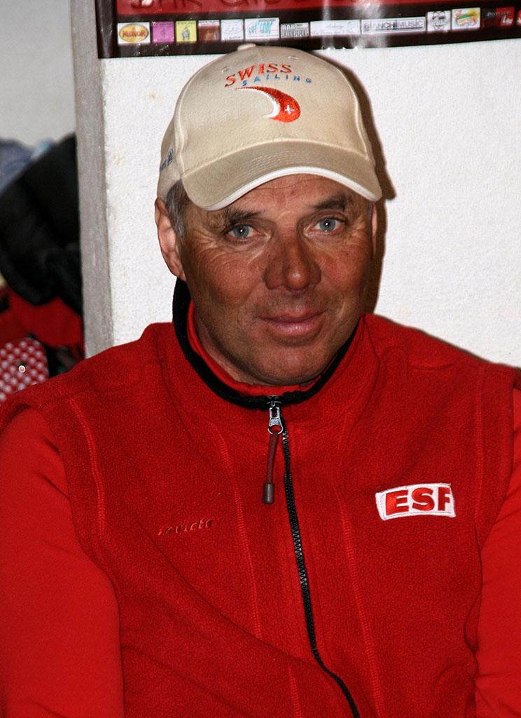 Philippe moniteur à l'école du ski français de Ventron