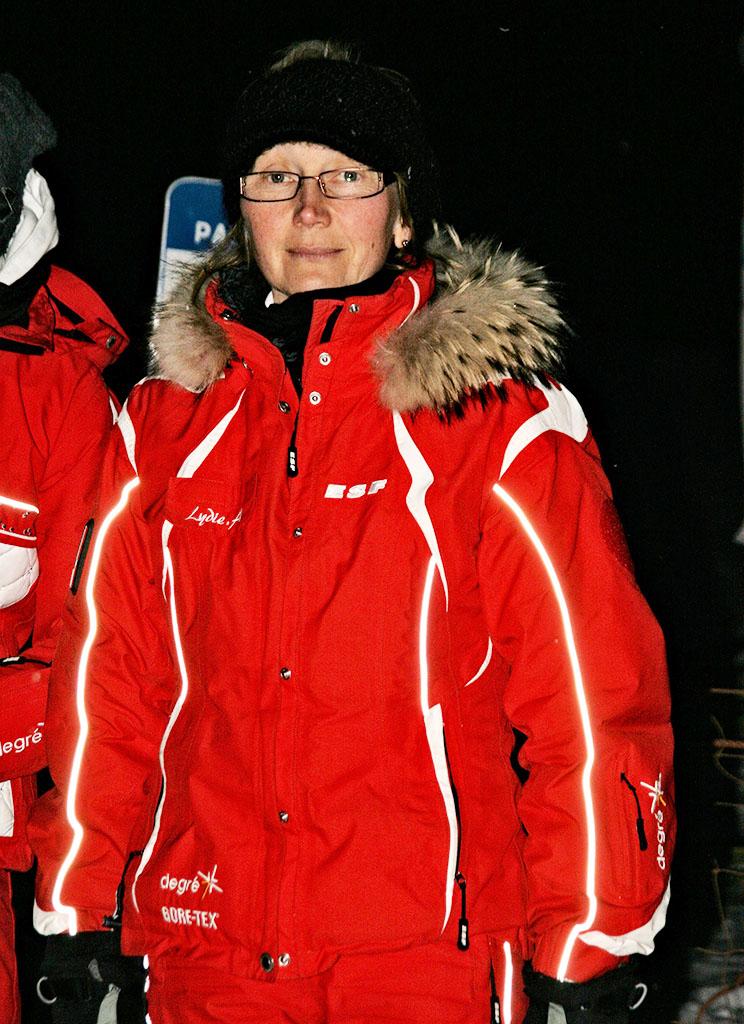 Lydie monitrice à l'école du ski français de Ventron