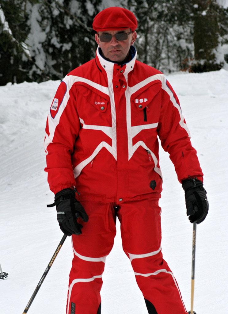 Sylvain moniteur à l'école du ski français de Ventron