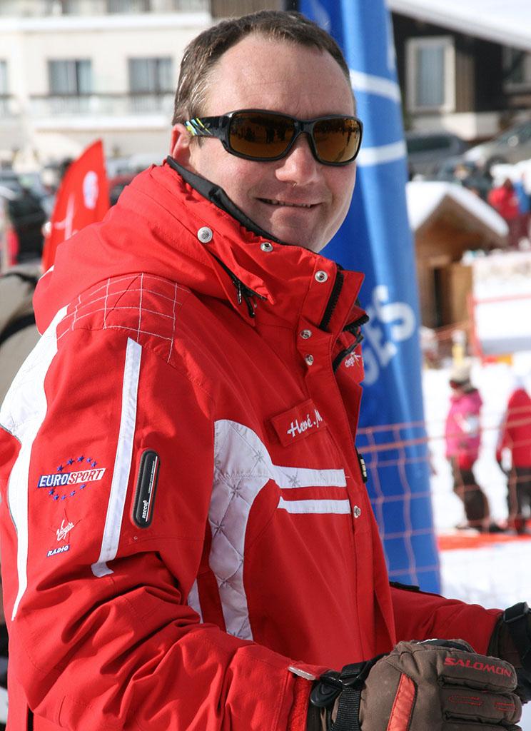 Hervé moniteur à l'école du ski français de Ventron