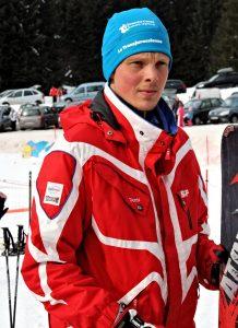 Sébastien moniteur à l'école du ski français de Ventron