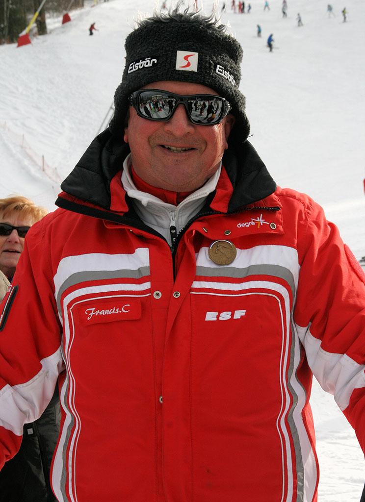 Francis C. moniteur à l'école du ski français de Ventron