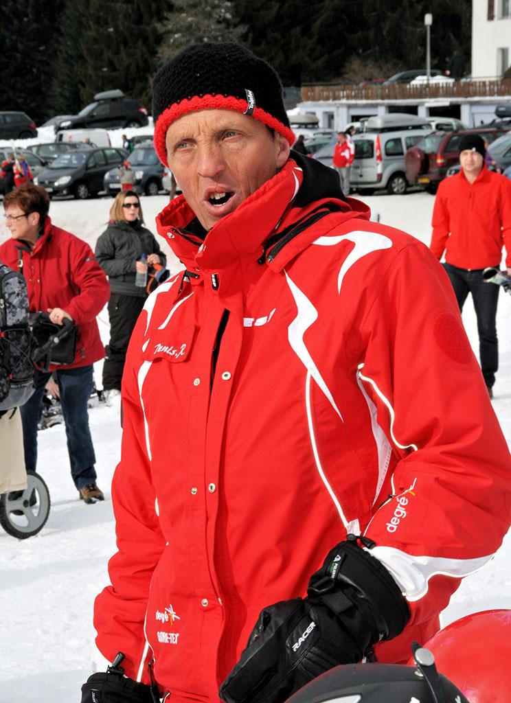 Denis moniteur à l'école du ski français de Ventron