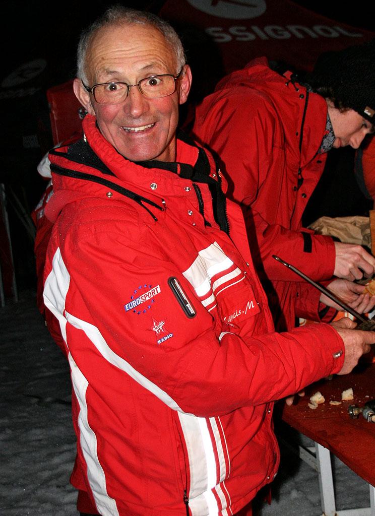 Francis moniteur à l'école du ski français de Ventron